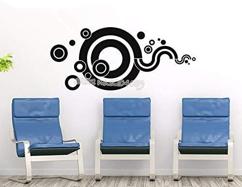 Ajcwhml Creativo Circular Fantasy Tatuajes de Pared Varios Patrones Circulares Círculos Wallpaper Home Decor para la Sala de Estar Murales de Vinilo 33x71cm: Amazon.es: Hogar