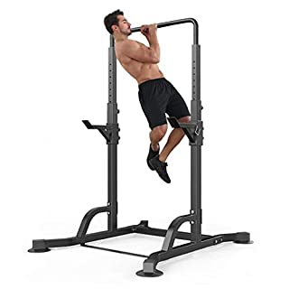 Antty Barbell Rack Free-Weight Racks Multifunctional Horizontal Bar Pull-up Weight Reduction Frame Bench Press Squat