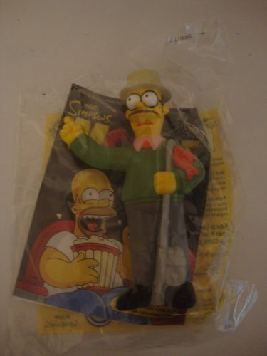 Burger King Kids Meal Toy - The Simpsons Movie - Ned Flanders -