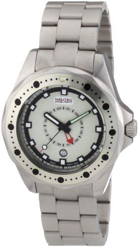 Nautec No Limit Men's Watch(Model: OC QZ-GMT/STSTWHWH)