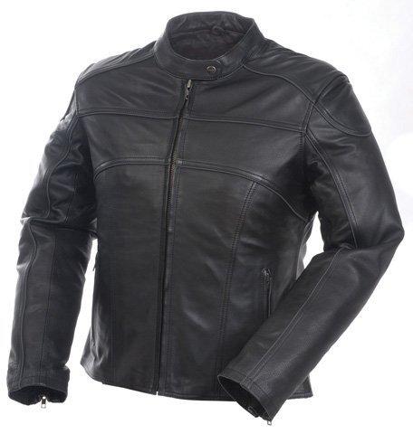 UPC 802024040525, Camoplast 20-218-10 Mossi Womens Premium Leather Jacket Size 10 Black