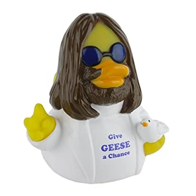 CelebriDucks Give Geese A Chance Bath Toy: Toys & Games