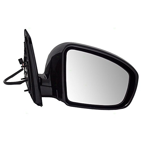 Passengers Power Side View Mirror Ready-to-Paint Replacement for Nissan Pathfinder 96301-3KA9A 96373-3JA0E