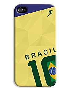 Brasil World Cup Shirt Case for your iPhone 4/4s