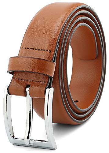 (Men's Classic Dress Belts Top Grain Leather India 35MM 1.38