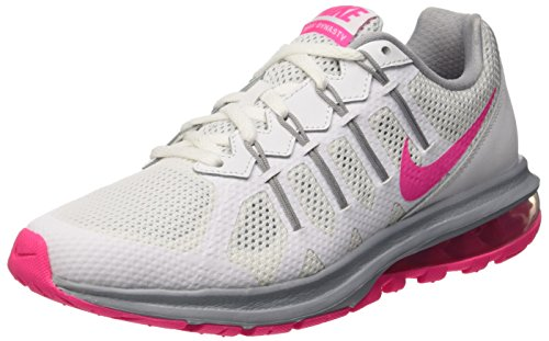 Nike Womens Air Max Dynasty White Pink Blast Wolf Grey Running Shoe 6.5. ‹ › d14850f43