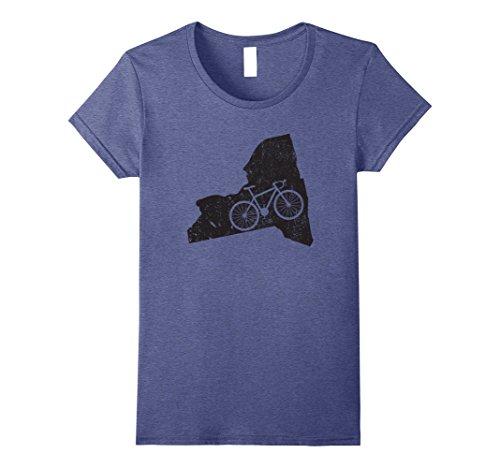 Womens Ride Your Bike New York   Unique Cycling & Triathlon Gift Small Heather - York Shop Triathlon New