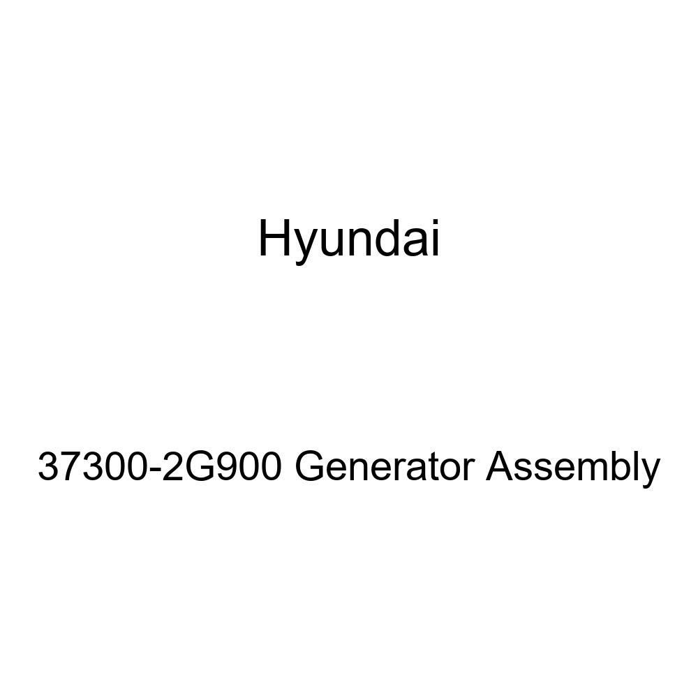 Genuine Hyundai 37300-2G900 Generator Assembly