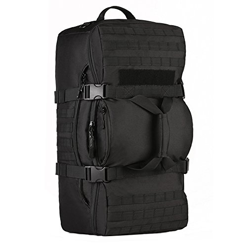 SUNVP Tactical MOLLE Assault SLR Cameras Backpack Luggage Duffle Carry On Bag