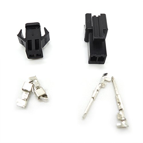 100 sets connectors SM 2Pin Pitch Female and Male Housing terminals SM-2P SM-2R JST 2.54MM SM2.54 Ogry