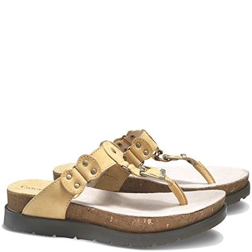 Caterpillar Womens Sonora Sandal Flat Cornsilk