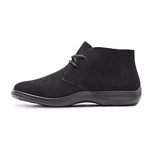 Casual Suede Black Boot Leather Black Women's Comfort Chukka Dr Cara Bootie qSFtAa
