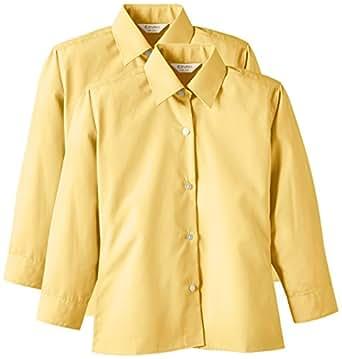 """Trutex 2PK LS Non Iron Shirt, Camisa Niños, Oro (Gold), 5-6 Años (talla fabricante: 11.5"""" cuello)"""