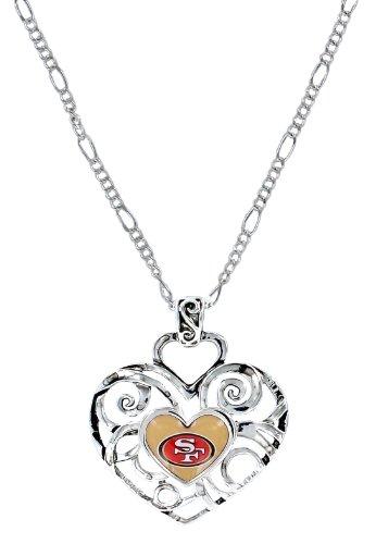 NFL San Francisco 49ers Ivy Pendant (Francisco Pendant 49ers San Logo)