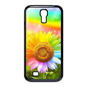 SamSung Galaxy S4 I9500 2D DIY Hard Back Durable Phone Case with Beautiful sunflower Image