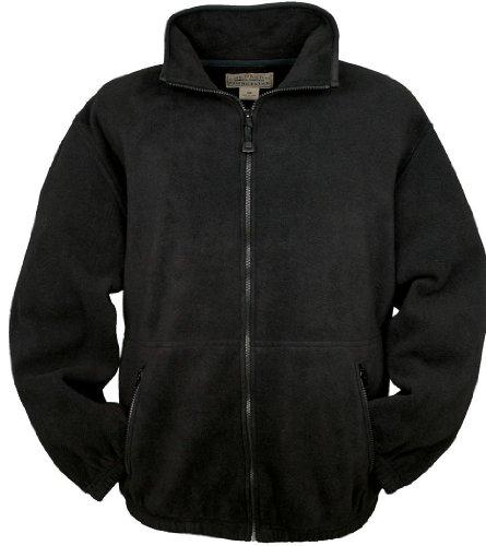 Colorado Fleece - Colorado Timberline Men's Telluride Fleece Jacket-LT (Black)