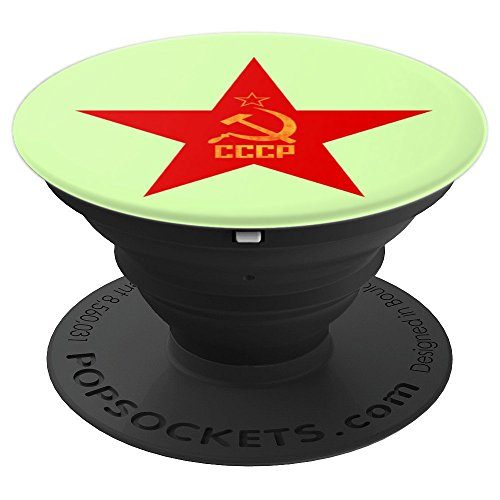 CCCP Red Star Soviet Pop Socket - PopSockets Grip and Stand for Phones and Tablets