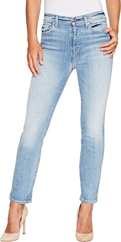 7 For All Mankind Women's Edie In Vintage Azure Vintage Azure 23 (7 For All Mankind Vintage Jeans)