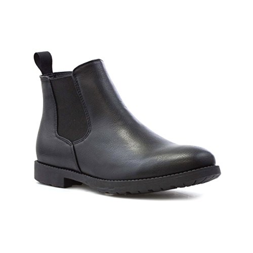 Beckett Mens Svart Chelsea Boot Svart