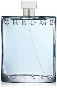 Azzaro Men's Chrome Eau de Toilette Natural Spray, 6.8 Fl Oz
