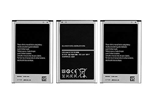 FrontTech 3200mAh OEM Battery+Charger for Samsung Galaxy Note 3 N9000 N9005 N900A N900 (3batteries+1charger)