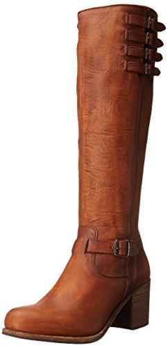 Frye Womens Kelly Cintura Alta-wshovn Bardatura Cognac
