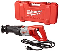 Cutting through materials is a staple of any demolition job. If you want to do the best job possible, you get the Sawzall from Milwaukee, the top name in construction hardware. This particular reciprocating saw is a feature-laden behemoth tha...