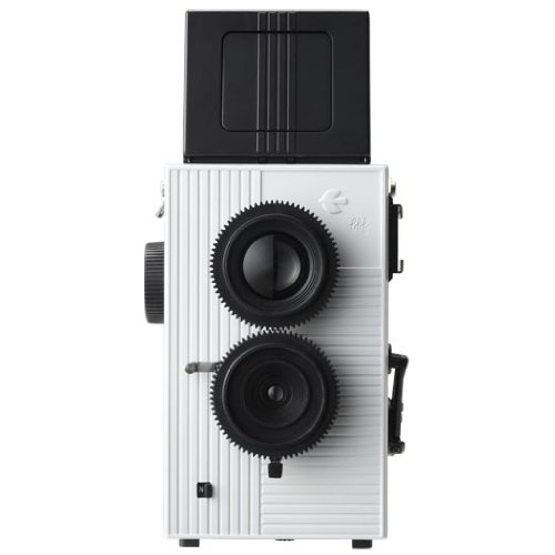Blackbird Fly 35mm TLR Twin Lens Reflex Camera - Black with White Face [Camera] (japan import) black bird 3013y