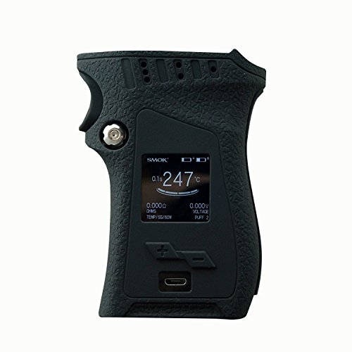 (Rayley Modshield for SMOK MAG 225W Mod Right Handed Version Protective Silicone Case Skin Cover Sleeves SMOK Mag 225W Right Hand (Black))