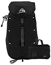 WHCREAT 35L Packable Hiking Backpack, Water Resistant Handy Lightweight Foldable Travel Rucksack
