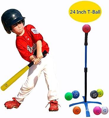 Macro Giant Juego de Bola Segura de 24 Pulgadas, 1 Bate de béisbol ...