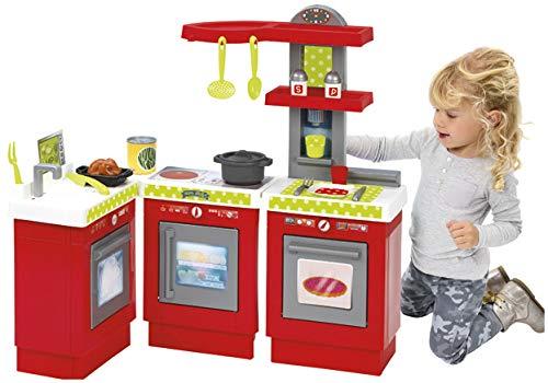 1699 Jouets Ecoiffier D/ès 18 mois Cuisine modulable pour enfants 100 /% Chef Fabriqu/ée en France 21 pi/èces