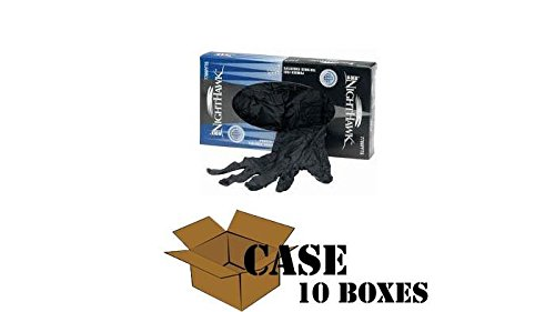 Best - N-DEX NightHawk Accelerator-Free Nitrile - Case Size Large by Disposable Glove