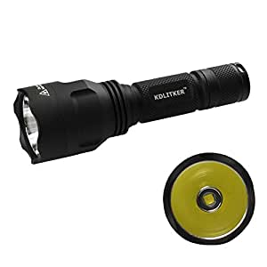KDLITKER C8.2 Cree XHP50.2 White or Neutral White or Warm White 2600 Lumens 5-Mode LED Flashlight uses of 1x18650 (Neutral White 5000K)