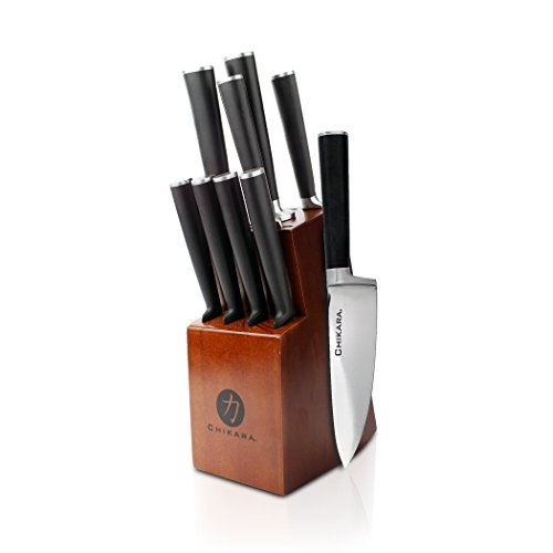 Ginsu Gourmet Chikara Series Forged 10-Piece Japanese Steel