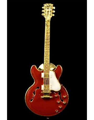 ES335 Hollowbody Guitar Pin - Red