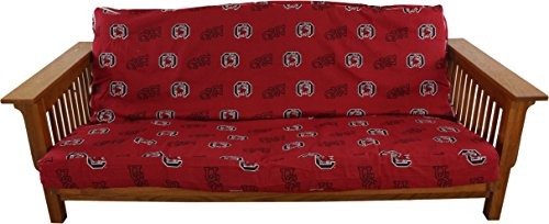 College Covers South Carolina Gamecocks Futon Lounge Cover, Full (Cover Bright Futon)