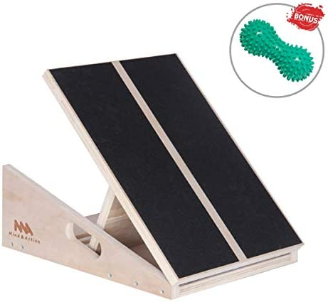 Mind and Action Slant Board,Calf Ankle Stretcher