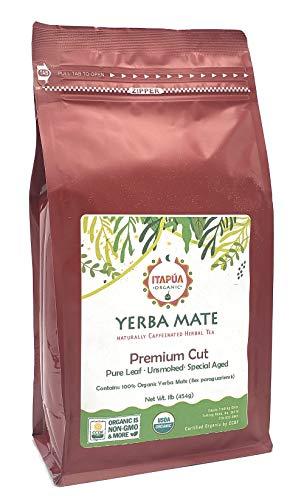 Itapua Premium 100% Organic Yerba Mate 1 lb (454g)