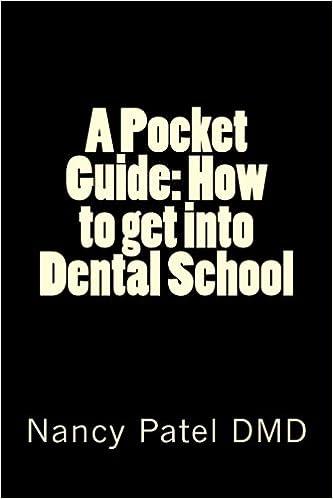 A Pocket Guide: How to get into Dental School: Nancy Patel DMD ...