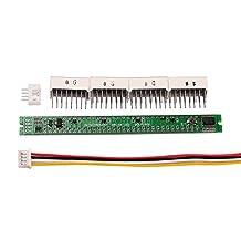 Nobsound Mono 32-bit Level Indicator Panel VU Meter LED Kit Board Sound Audio Display Analyzer for Audio Amplifier DIY (DIY Kit)