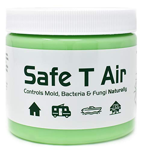 Safe T Air All-Natural Air Purifier with Australian Tea Tree Essential Oil | for Homes, Cars, Boats, RVs | 400 Gram Jar (14 Ounces) (Best Air Purifier For Pollution)
