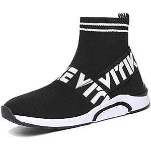 Chaussures de Sport Ultra-légères pour Femmes Chaussures de Sport à Coussin d'air Baskets Mode Chaussures pour Garçon…