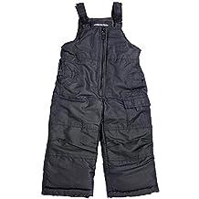 London Fog - Baby Boys Bib Snowpant, Black 34003-12Months