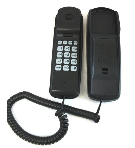 RCA Consumer 1104-1BKGA Trimline Caller ID Phone in Black