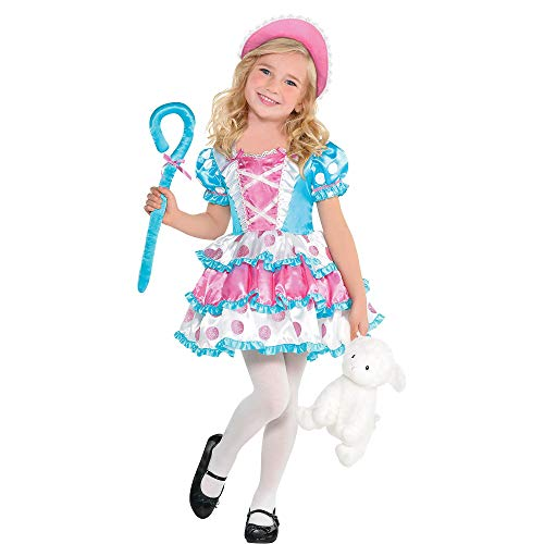 Suit Yourself Little Bo Peep Halloween Costume for Girls, Small, Includes Accessories]()