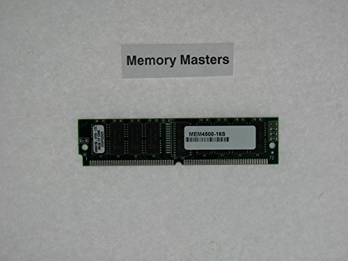 - MEM4500-16S 16MB Approved shared memory upgrade for Cisco 4500 Series Routers(MmeoryMasters)