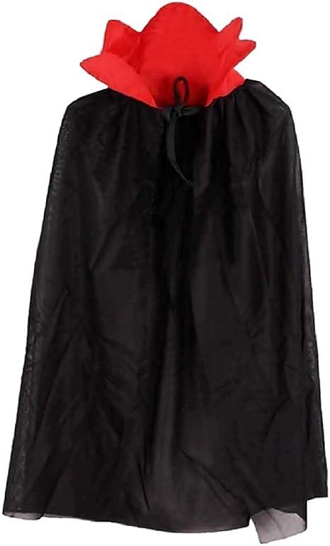 Capa para disfraz de vampiro - demonio - disfraces para niños ...