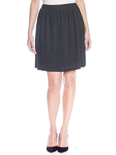 Vive Maria Montmatre Skirt, Falda Casual para Mujer Schwarz (black allover)