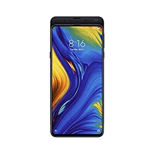 Xiaomi MI Mix 3 (128GB, 6GB) 6.39″ Display, Dual SIM 4G LTE GSM Unlocked Multi-Functional Magnetic Slider Smartphone w/Wireless Charging Pad (Black)